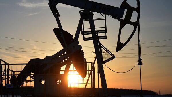 Нефтяные станки-качалки - Sputnik Ўзбекистон