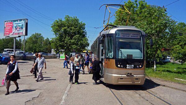 Toshkent tramvayi - Sputnik Oʻzbekiston