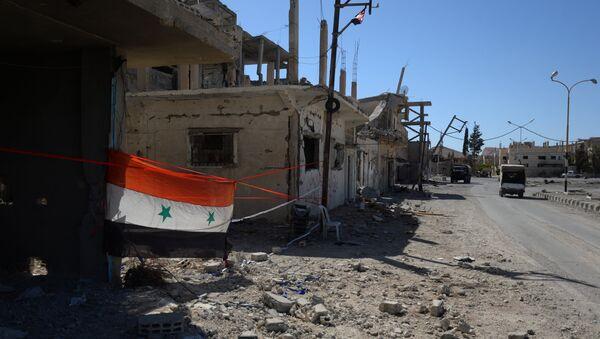 Флаг Сирии - Sputnik Ўзбекистон