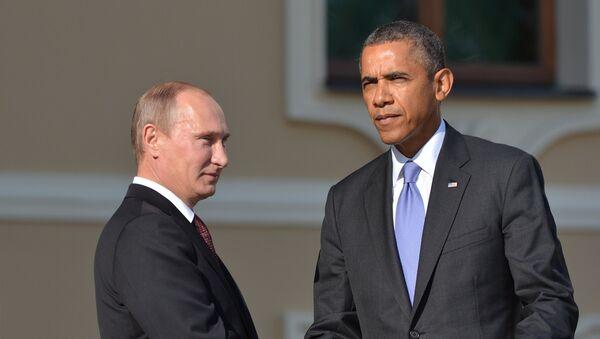 Putin va Obama - Sputnik Oʻzbekiston