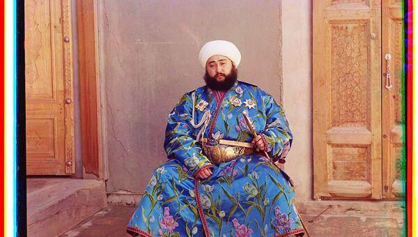 Сайид Мир Муҳаммад амир Олим-хон. Бухоро 1911 - Sputnik Ўзбекистон