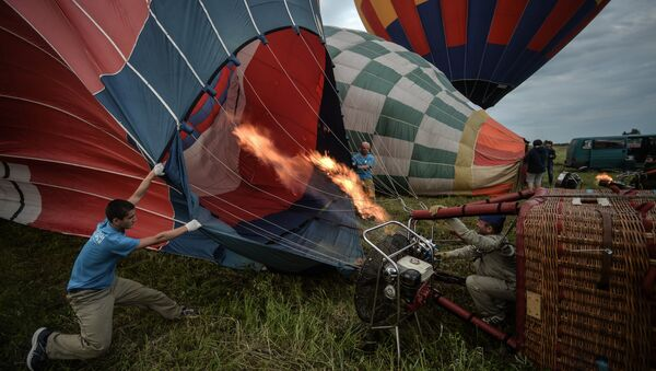Воздухоплаватели готовятся к полетам на воздушных шарах - Sputnik Ўзбекистон