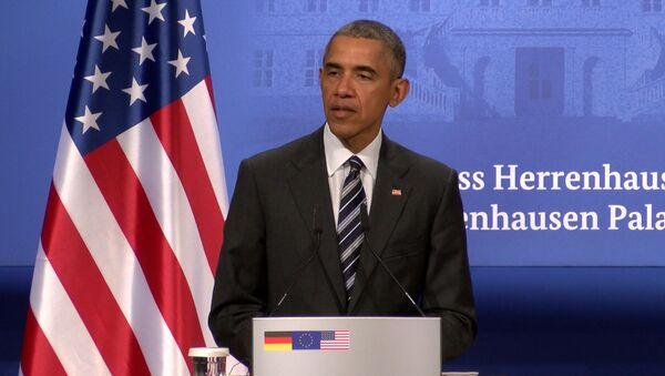 AQSH prezidenti Barak Obama - Sputnik Oʻzbekiston