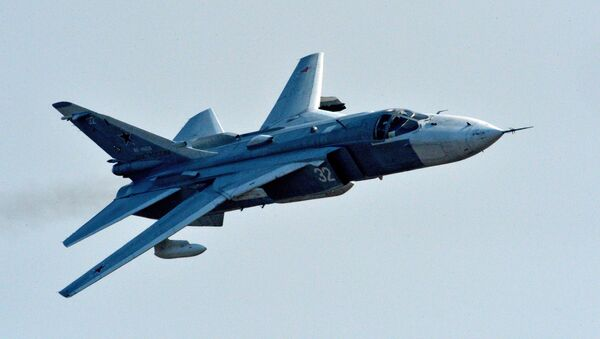 Самолет Су-24 - Sputnik Узбекистан