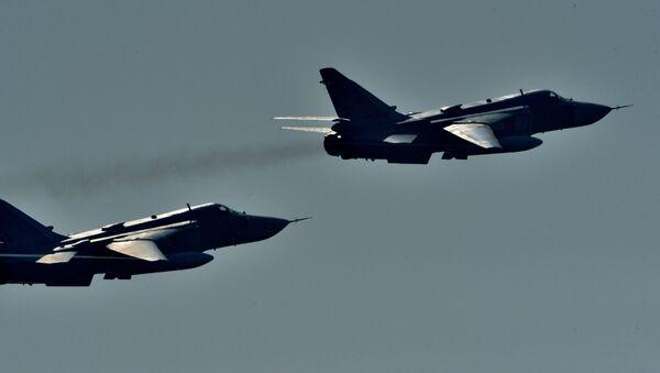 Самолет Су-24 - Sputnik Ўзбекистон