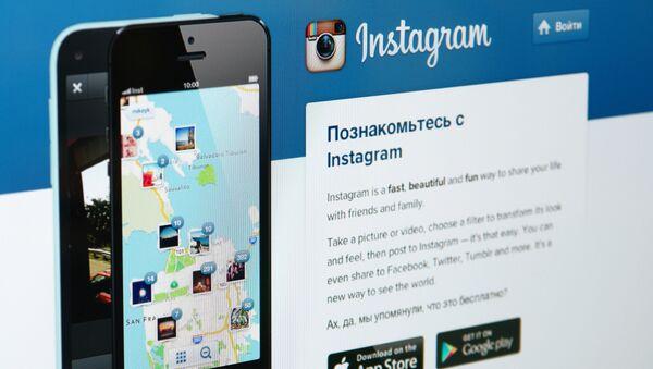 Instagram ижтимоий тармоқ саҳифаси - Sputnik Ўзбекистон