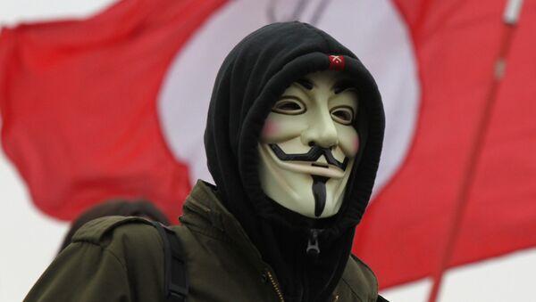 Anonymous xakerlar guruhi - Sputnik Oʻzbekiston