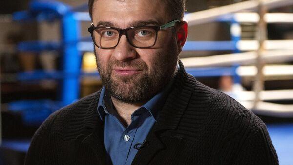 Akter Mixail Porechenkov na s'yemkax filma - Sputnik Oʻzbekiston