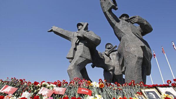 Празднование 9 мая в Риге - Sputnik Узбекистан
