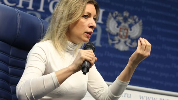 Россия ТИВ расмий вакили Мария Захарова - Sputnik Ўзбекистон
