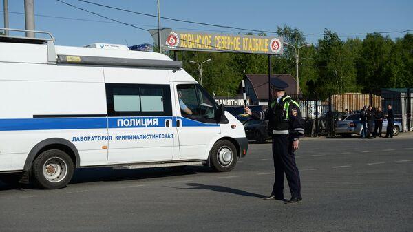 Массовая драка на Хованском кладбище в Москве - Sputnik Ўзбекистон