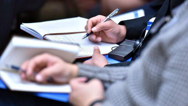 Бумага и ручка - Sputnik Узбекистан
