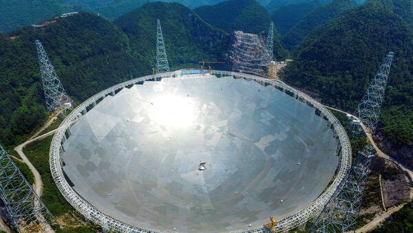 Телескоп в Китае - Sputnik Ўзбекистон