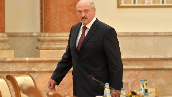 Президент Беларуси Александр Лукашенко - Sputnik Ўзбекистон