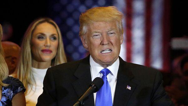 Американский миллиардер и телеведущий Дональд Трамп - Sputnik Ўзбекистон