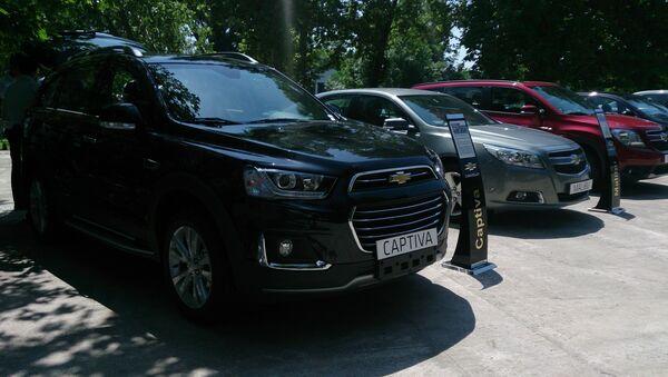 Обновленная Chevrolet Captiva - Sputnik Узбекистан