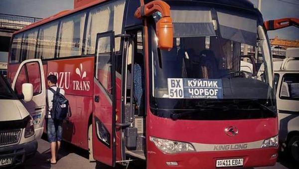 Avtobus na Charvak - Sputnik Oʻzbekiston
