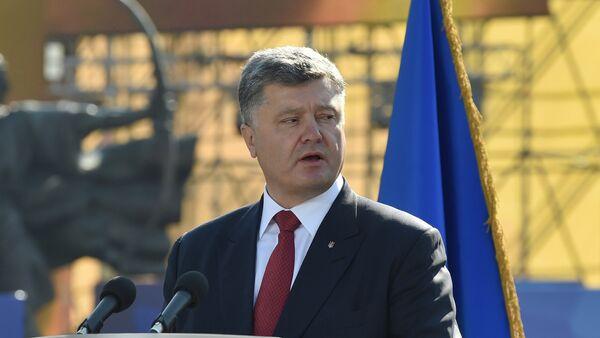 Petr Poroshenko - Sputnik Oʻzbekiston