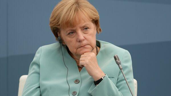 Germaniya Federativ Respublikasi kantsleri Angela Merkel. - Sputnik Oʻzbekiston