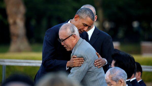 Барак Обама Хиросима шаҳрига қадамранжида қилди - Sputnik Ўзбекистон