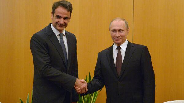 Rossiya Prezidenti Vladimir Putinning Gretsiyaga safari - Sputnik Oʻzbekiston