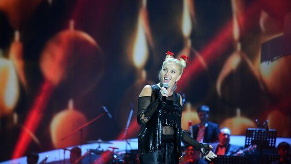 Layma Vaykule na muzыkalnom festivale Pesnya goda 2014 - Sputnik Oʻzbekiston
