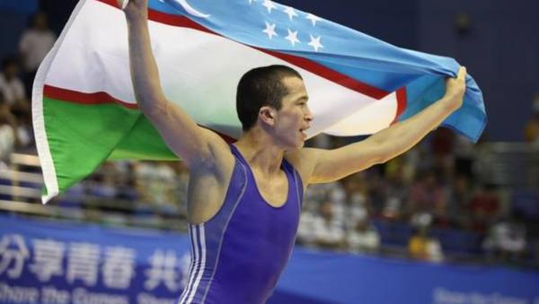 Ilhom Bahromov, yunon-rim kurashchisi - Sputnik Oʻzbekiston