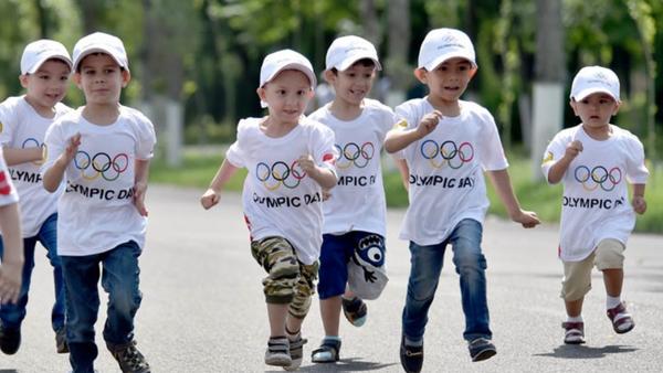 Марафон на Олимпийском празднике в Ташкенте - Sputnik Ўзбекистон