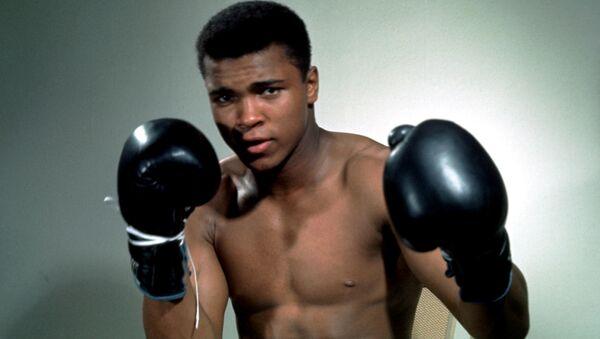 Afsonaviy bokschi Muhammad Ali - Sputnik Oʻzbekiston