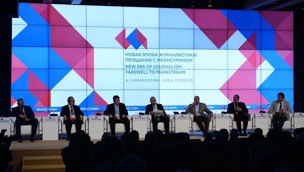 Jurnalistikada yangi davr: meynstrim bilan xayrlashuv xalqaro forumi - Sputnik Oʻzbekiston