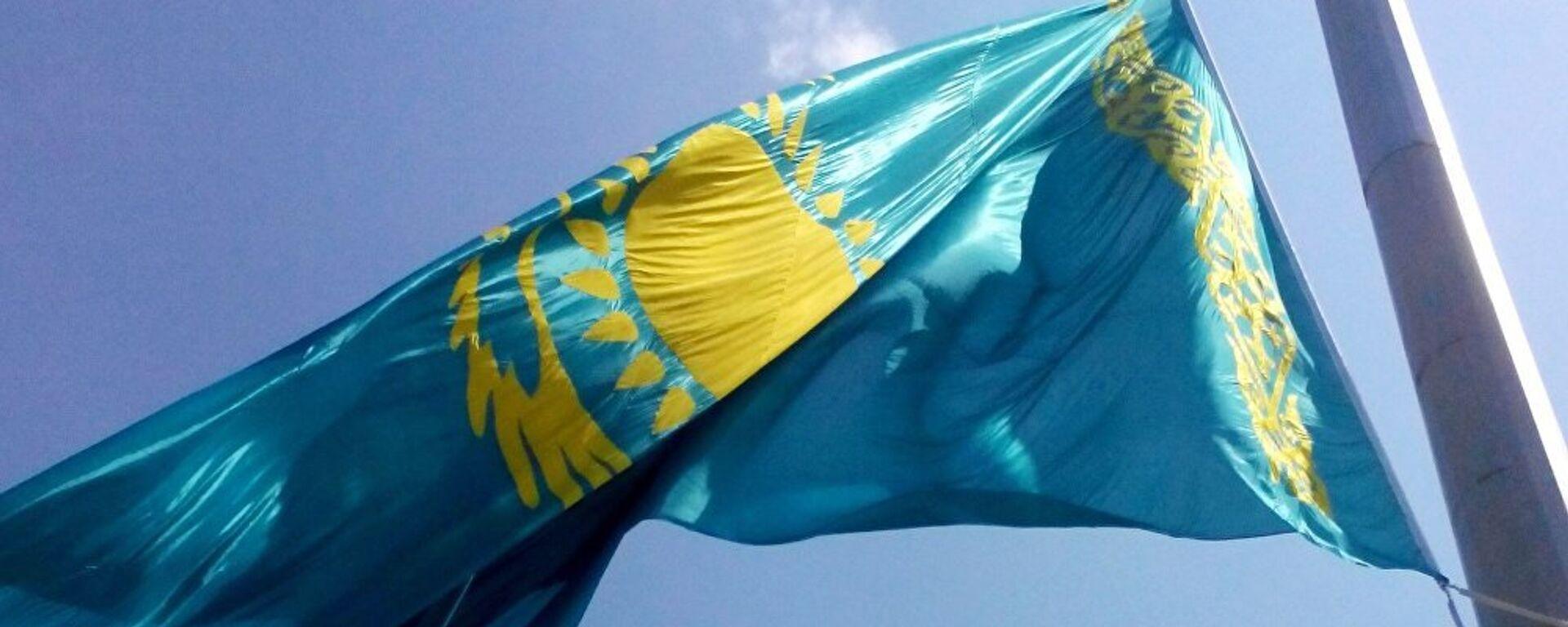 Flag respubliki Kazaxstan - Sputnik Oʻzbekiston, 1920, 28.08.2021