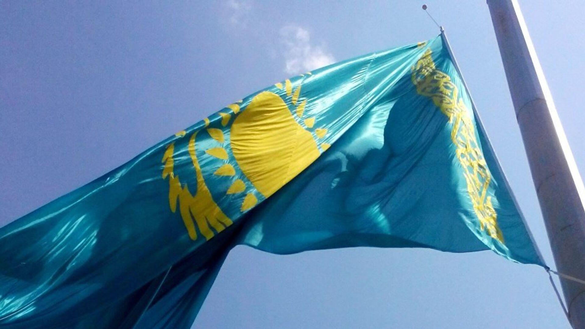 Флаг республики Казахстан - Sputnik Ўзбекистон, 1920, 28.08.2021