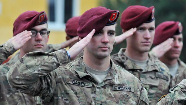 Военнослужащие армии США. Архивное фото.  - Sputnik Узбекистан