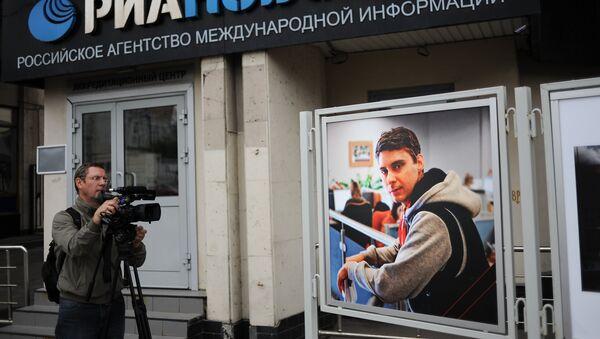 Ukraina Janubi Sharqida qurbon boʻlgan foto jurnalist Andrey Stenin - Sputnik Oʻzbekiston