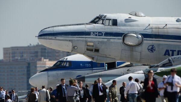 Открытие Международного авиационно-космического салона МАКС-2015 - Sputnik Узбекистан