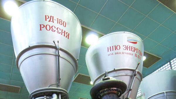 РД-180 ракета двигатели - Sputnik Ўзбекистон