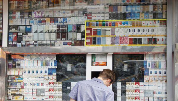 Prodaja sigaret. - Sputnik Oʻzbekiston