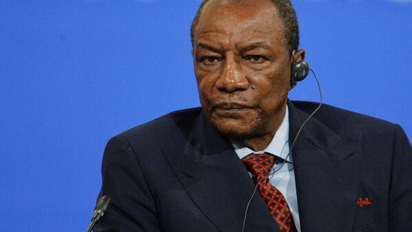 Гвинея Республикаси президенти Альфа Конде - Sputnik Ўзбекистон