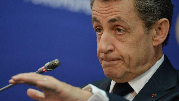 Франциянинг собиқ президенти Николя Саркози - Sputnik Ўзбекистон