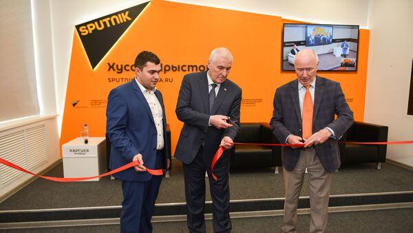 Открытие мультимедийного Центра Sputnik  в Цхинвале - Sputnik Узбекистан