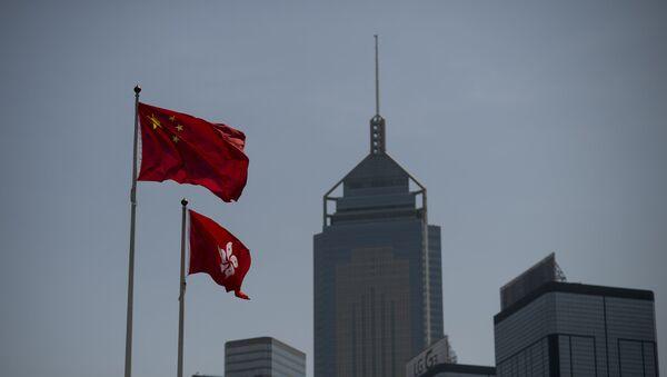 Акции протеста за демократизацию выборов в Гонконге - Sputnik Ўзбекистон