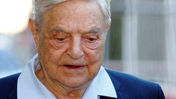 Multimilliarder Djordj Soros - Sputnik Oʻzbekiston