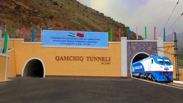 Qamchiq temiryoʻl tuneli - Sputnik Oʻzbekiston
