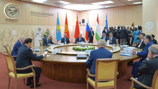 SHHT davlat rahbarlari sammiti - Sputnik Oʻzbekiston