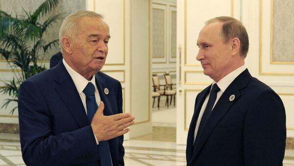 Rossiya va Oʻzbekiston prezidentlari uchrashuvi - Sputnik Oʻzbekiston