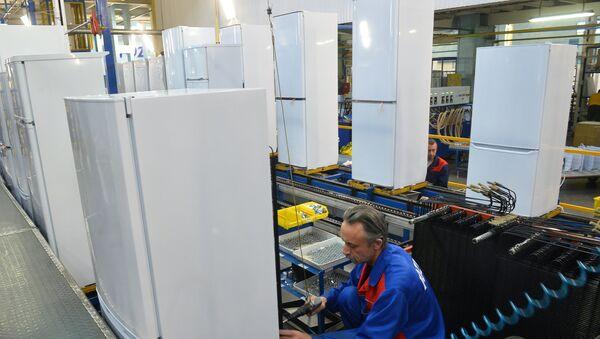 Proizvodstvo xolodilnikov - Sputnik Oʻzbekiston