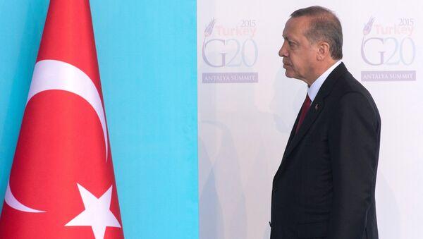 Turkiya prezidenti Toyib Erdoʻgʻon - Sputnik Oʻzbekiston