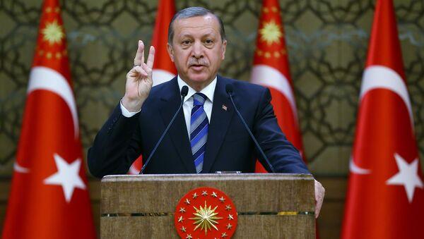 Prezident Turtsii Redjep Tayip Erdogan. - Sputnik Oʻzbekiston