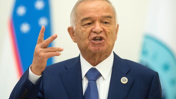 Ўзбекистон Президенти Ислом Абдуғаниевич Каримов - Sputnik Ўзбекистон
