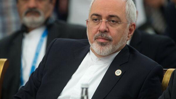 Министр иностранных дел Исламской Республики Иран Мохаммад Джавад Зариф - Sputnik Ўзбекистон